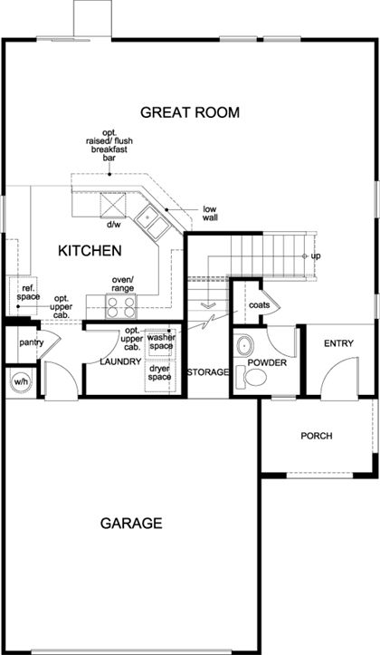 Kb Homes 1768 Floor Plan Via Nmhometeam Com Floor Plans House Floor Plans Kb Homes