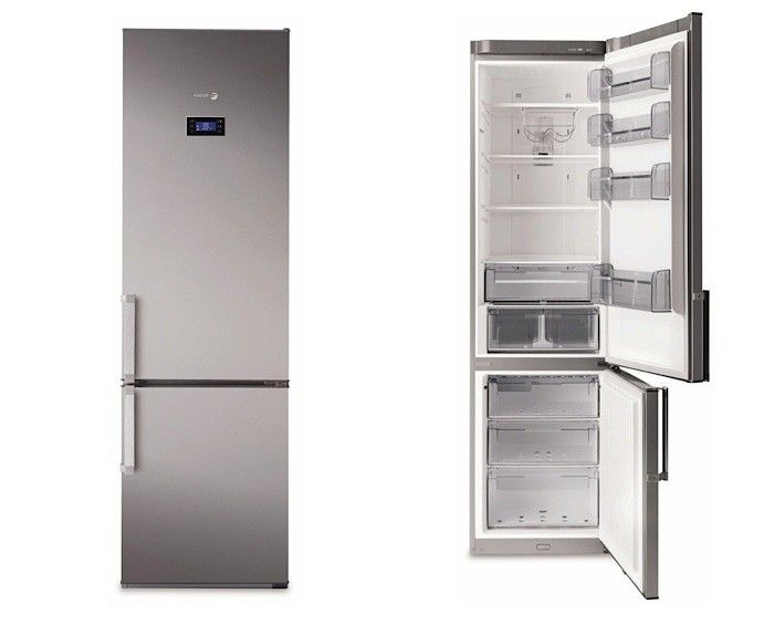 Fagor Ffja4845x Counter Depth Bottom Freezer Refrigerator Small Refrigerator Narrow Kitchen Modern Refrigerators