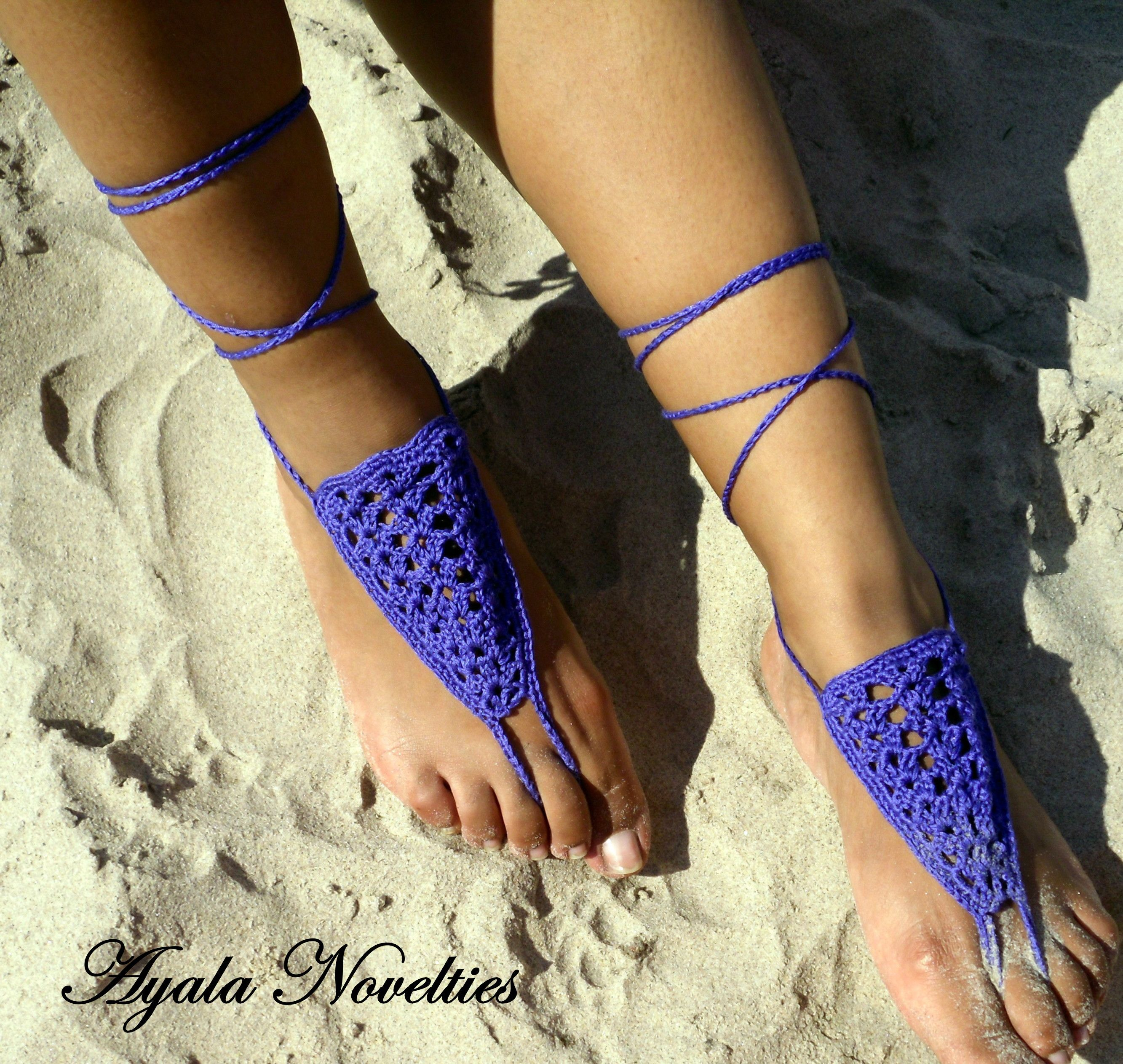Adult Barefoot Sandal Patterns