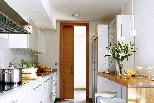M s de 25 ideas incre bles sobre decorar cocinas peque as for Estanterias pequenas para bano