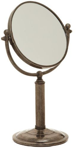 $35.09-$39.99 Baby Taymor Antique Pewter Countertop Vanity Mirror - This item is a great addition to any household. As you cannot have enough mirrors. So light weight it can be carried from the bedroom to the bathroom. It's made for the countertop within easy reach when needed. http://www.amazon.com/dp/B003FMVO7S/?tag=pin2baby-20