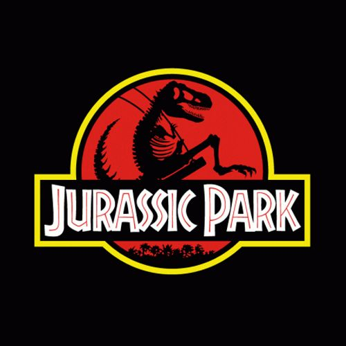 iMage T-Shirt Jurassic Park Error Chrome T-Rex Dinosauro by Divertente
