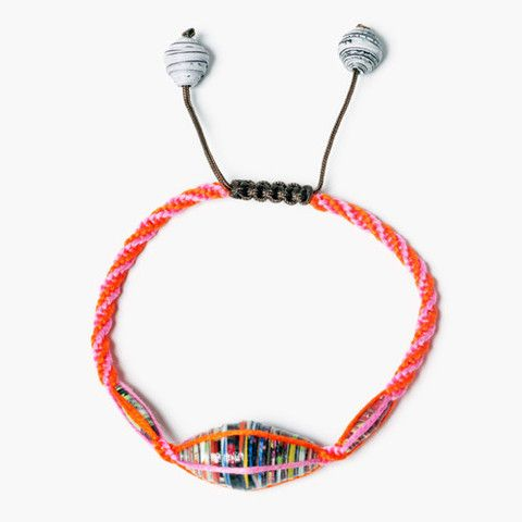 Kiss Kiss Bracelet by Chan Luu. Sales support J/P Haitian Relief Organization to support development in Haiti. #ONEMoms #GiftstheGive