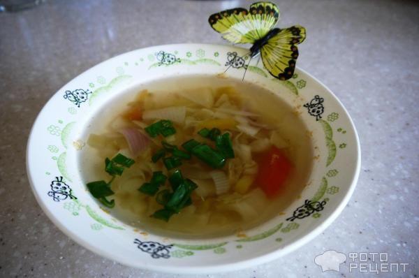 Супы на воде рецепты