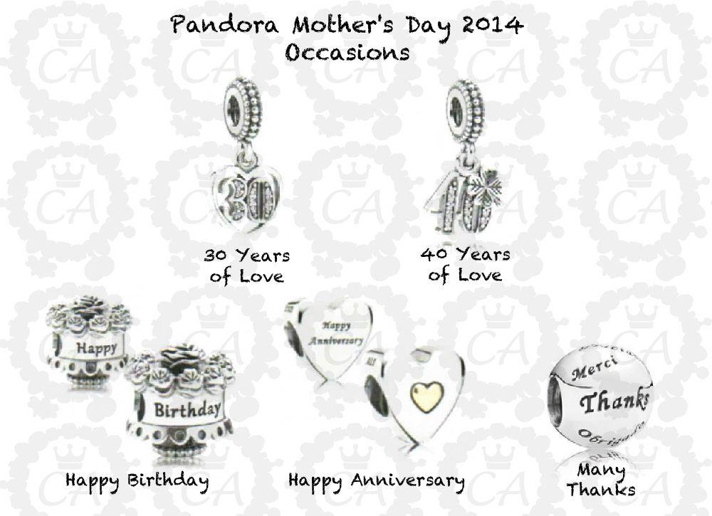 pandora 20 anniversary charm