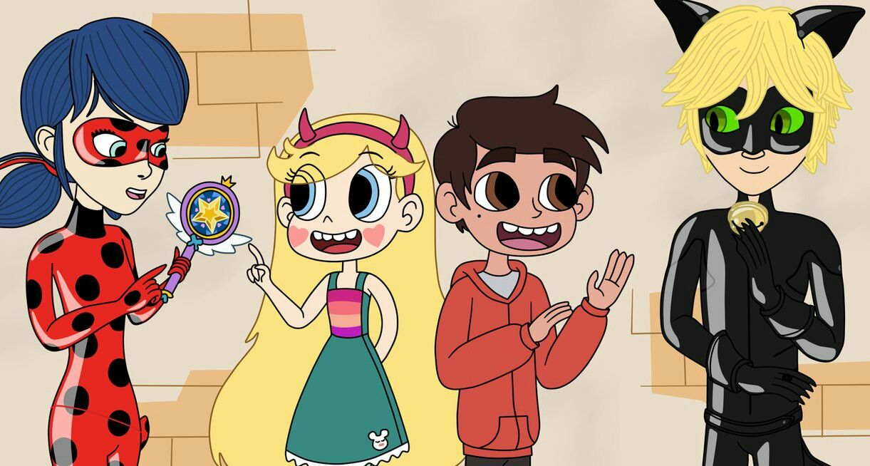 Starco meets ladynoir crossover