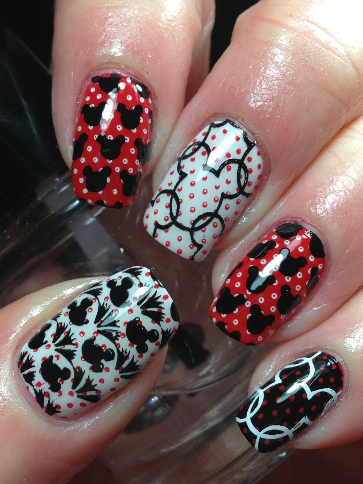 Canadian Nail Fanatic: Digit-al Dozen Does Patterns on Patterns; Day ...