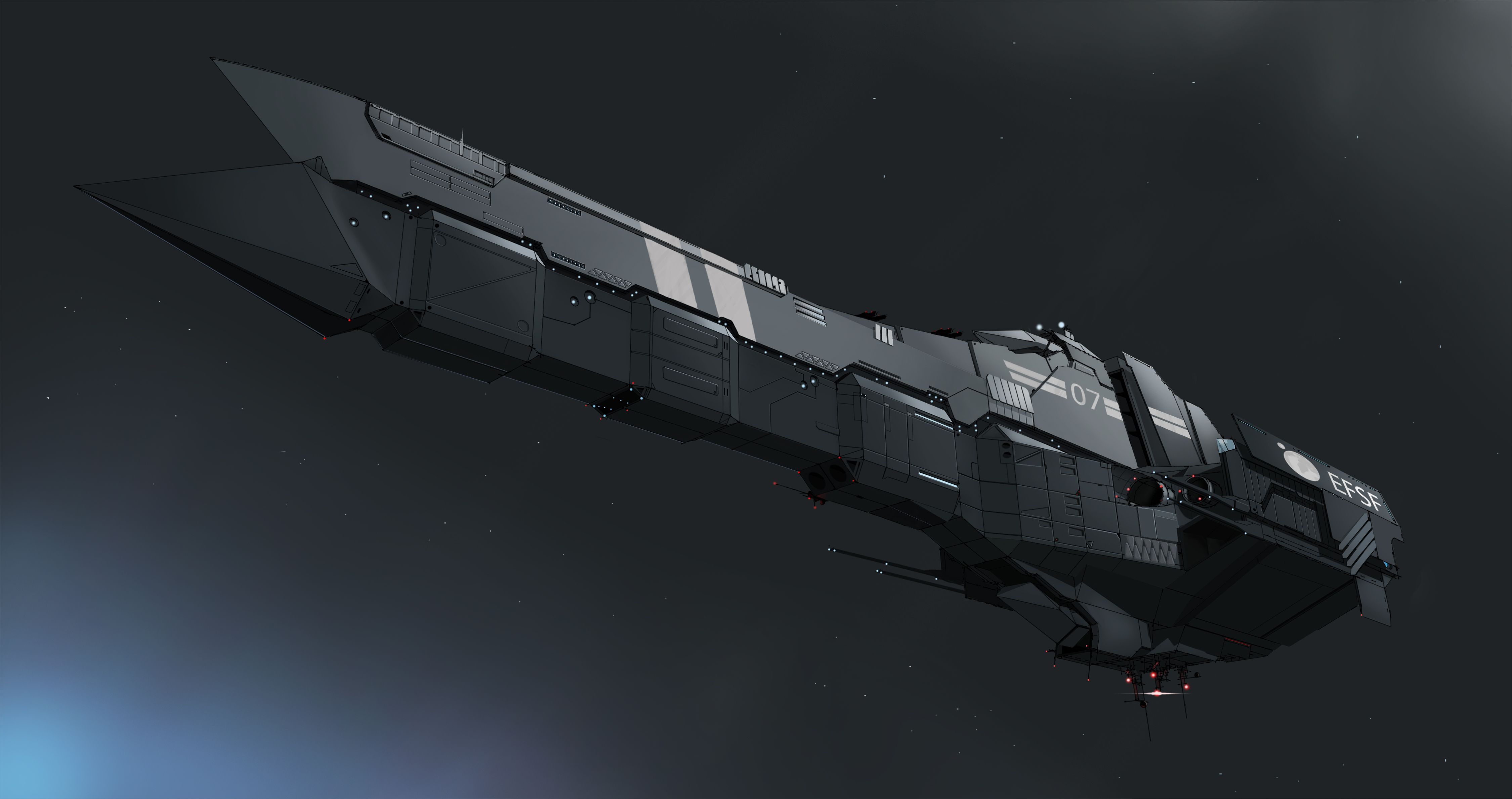 EFSF Battleship v2.0 by ~Ivkol on deviantART | Concept ...