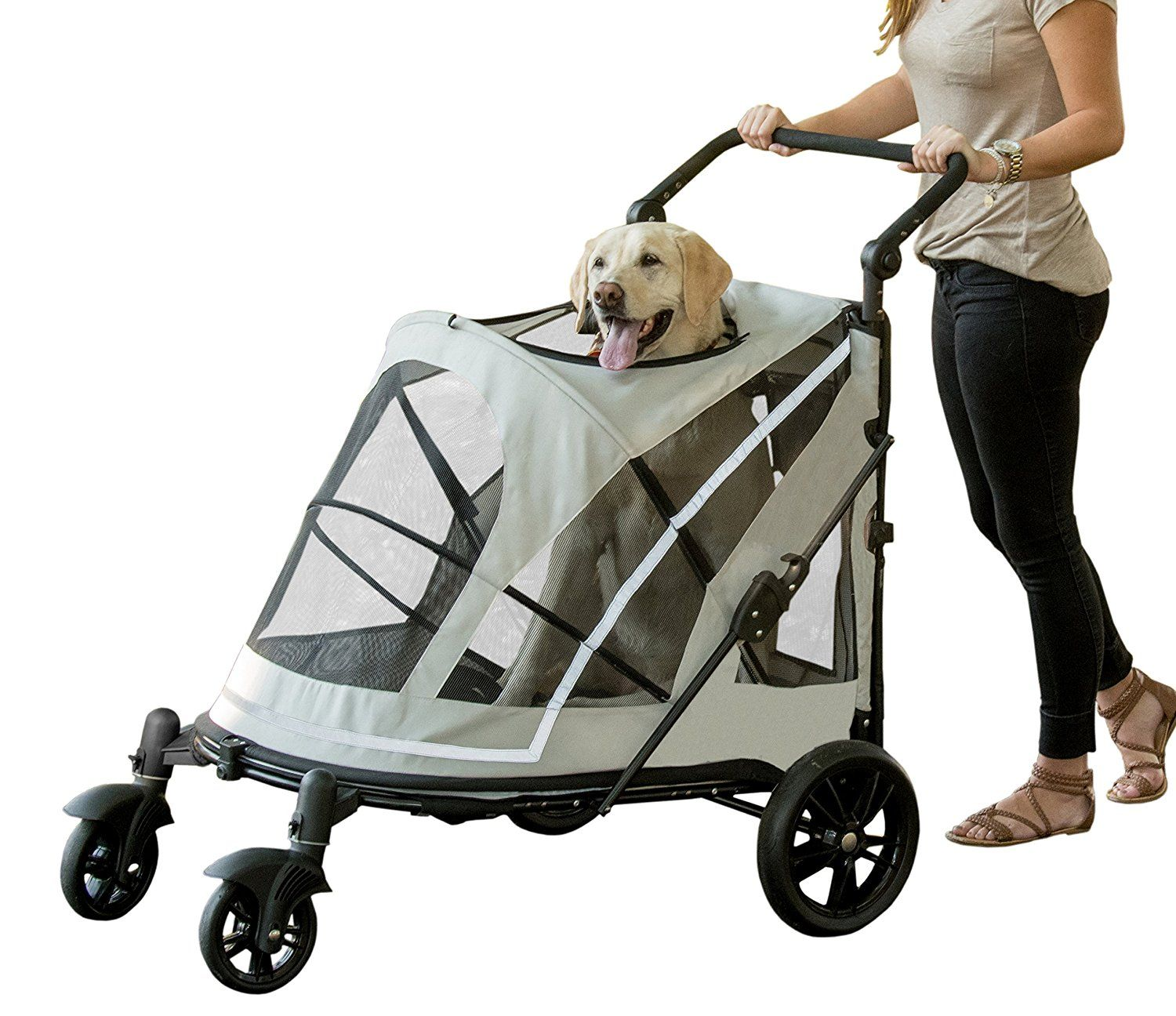 Pet Gear No Zip Expedition with push Button Entry for Single or Multiple Pets