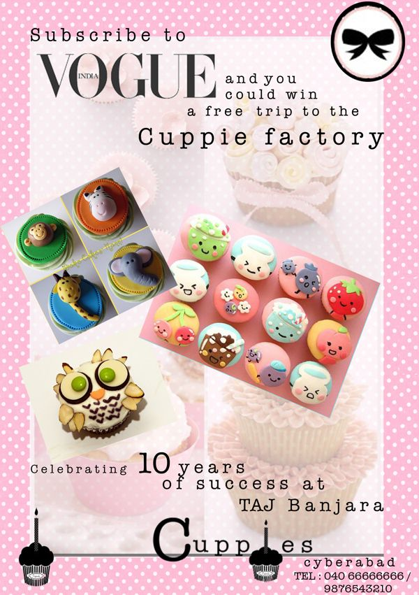 Graphic Design :Stationeries,ads for the brand :Cuppies by Akshaya Bhat, via Behance