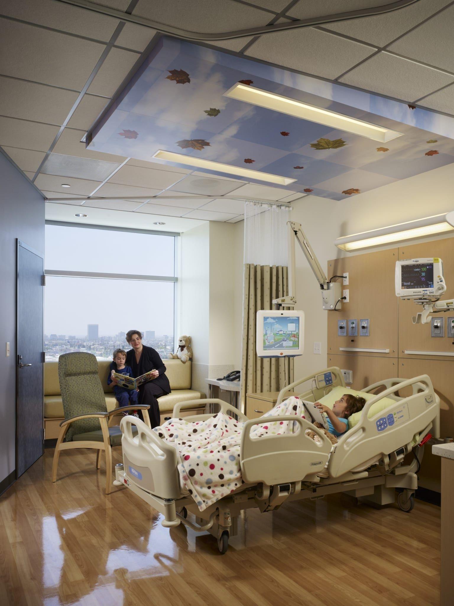 Trauma Room Design: Children's Hospital Los Angeles, Marion And John E