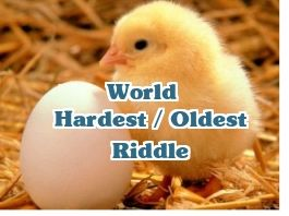Worlds Hardest Riddle Ever