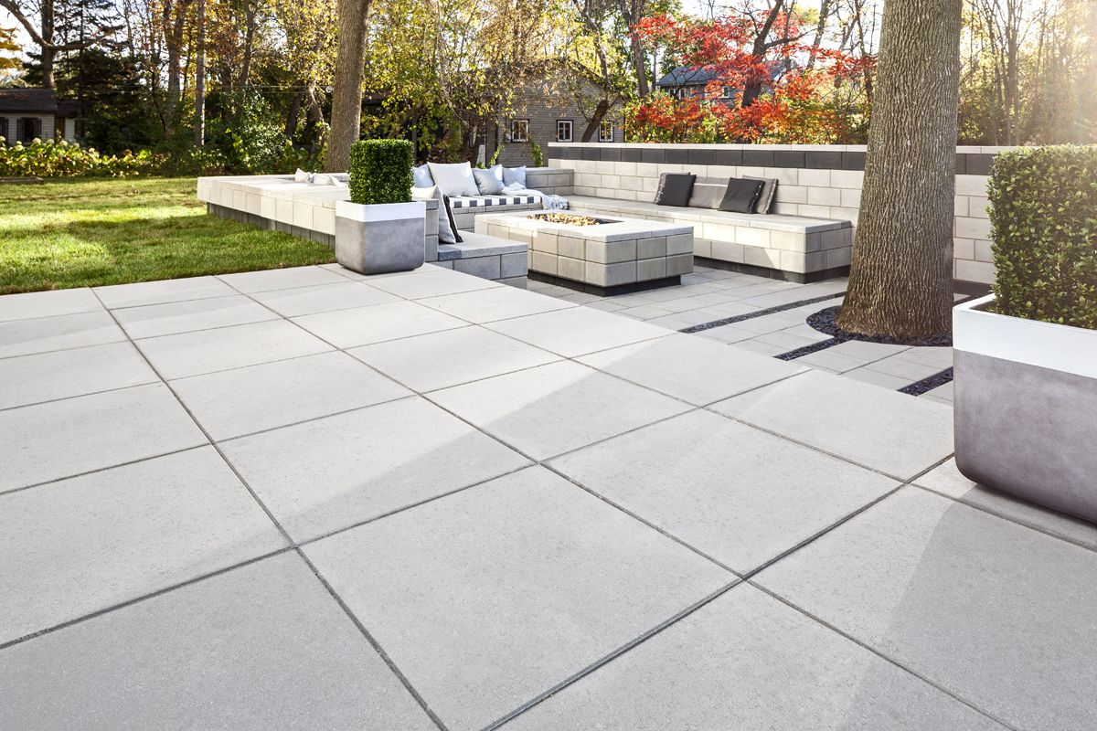 Bare Land To Modern Patio Landscaping Products Supplier Techo