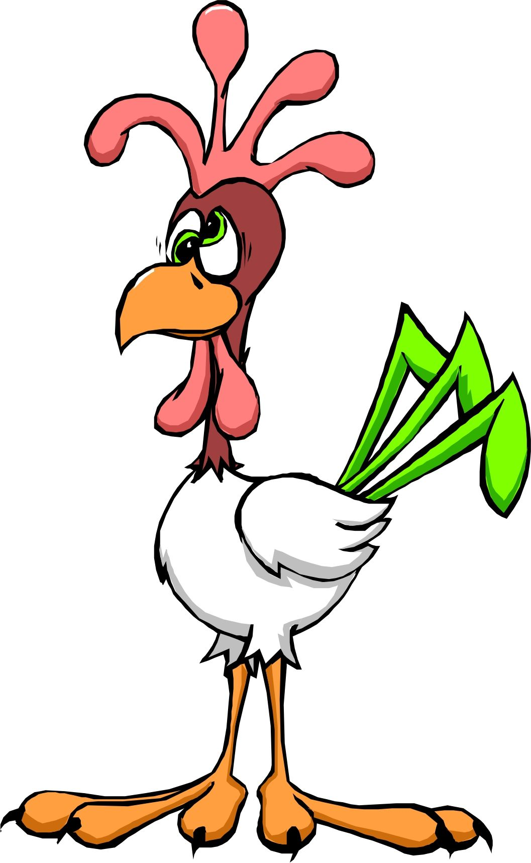 cartoon chickens clipart best [ 1057 x 1717 Pixel ]