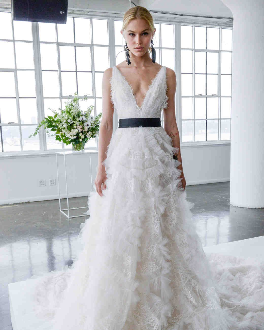 Marchesa Spring 2018 Wedding Dress Collection | Martha Stewart ...
