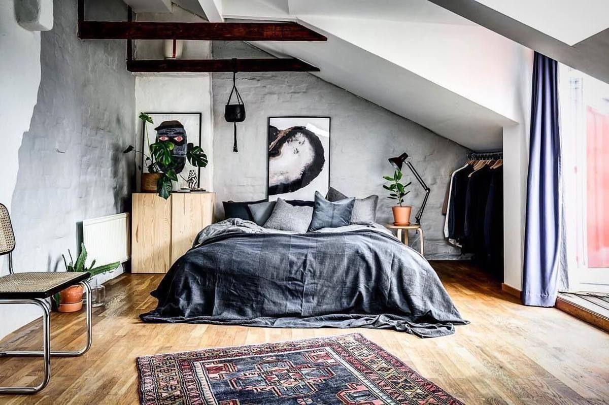 Luxus Hausrenovierung Designer Nahttisch Fur Schlafzimmer Einrichtungsideen #27: Minimal Interior Design Inspiration | 115. Schlafzimmer ...