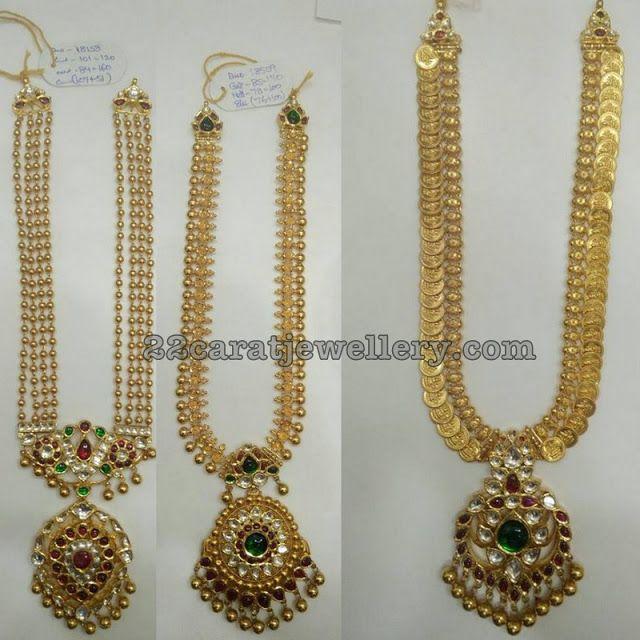 Simple Gold Long Sets 50 Grams