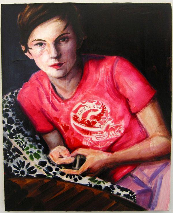 Elizabeth Peyton Self Portrait