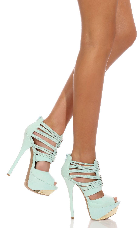 Shoes > PRETTY IN MINT HEEL