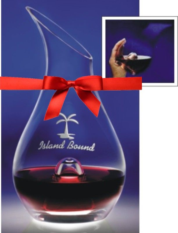 Personalized European Glass # WineDecanter  - Great Gift for the Wine Lovers on Your List. $168