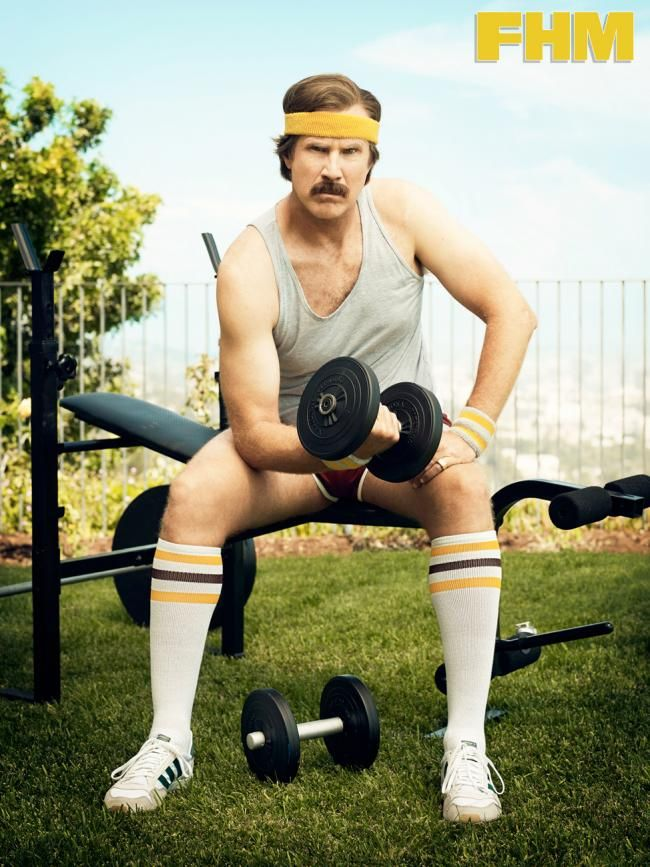 Ron Burgundy Fan Of Anchorman Pinterest Gym Humor Workout