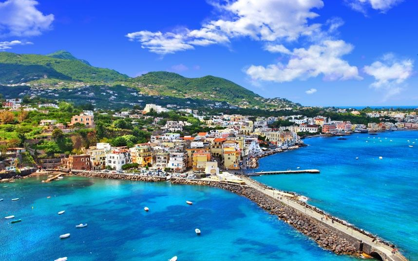 Beaches from the movies travel destinations naples and - Bagno italia ischia ...