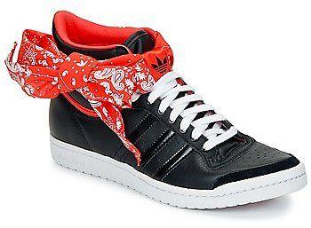 adidas TOP TEN HI SLEEK BOW BANDANA W women's Shoes (High