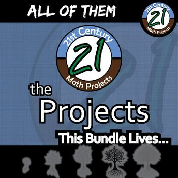 21st Century Math Projects - All OF THE PROJECTS! -- Middle & High ...