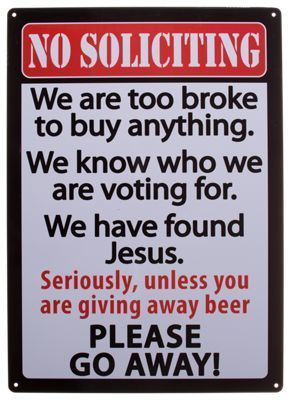 Rivers Edge No Soliciting Tin Sign #nosolicitingsignfunny Rivers Edge No Soliciting Tin Sign #nosolicitingsignfunny Rivers Edge No Soliciting Tin Sign #nosolicitingsignfunny Rivers Edge No Soliciting Tin Sign #nosolicitingsignfunny