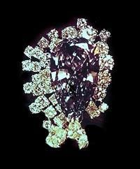 Transval Diamond (Russian Crown Jewels).  This is a spectacular piece.