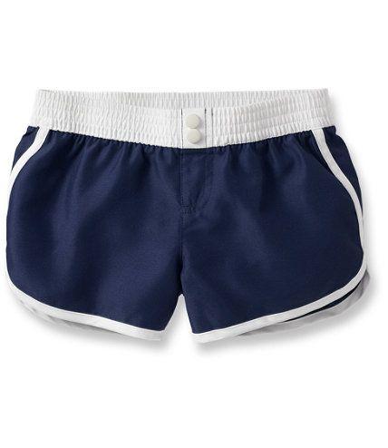 319e1ff140 Girls Sun-and-Surf Shorts: Swimwear   Free Shipping at L.L.Bean ...