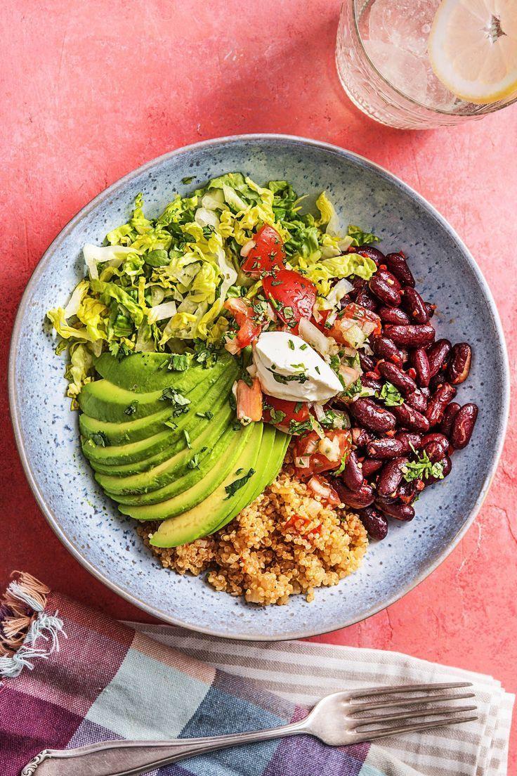 Photo of Burrito Bowl! Tomato Quinoa Recipe   HelloFresh