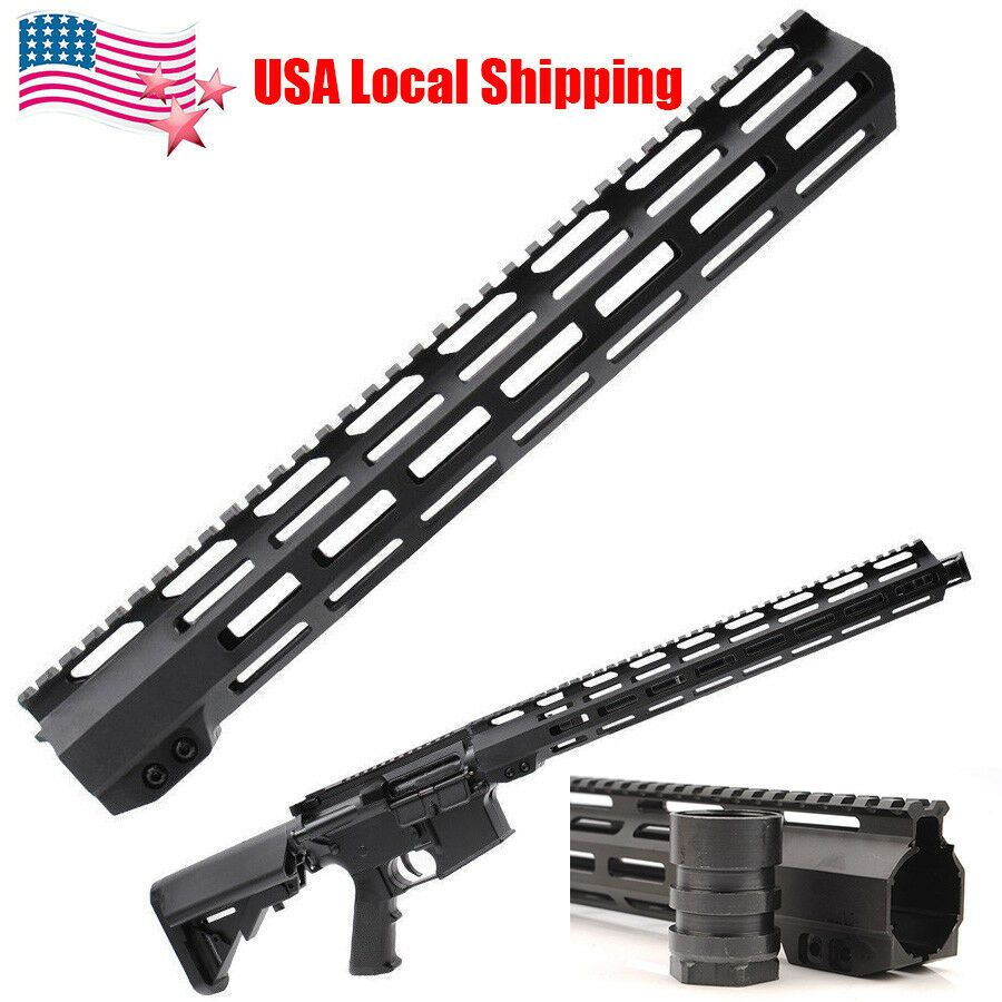 Us 223 15 Ultra Light Super Slim Mlok M Lok Handguard Free Float