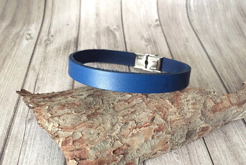 Bracelet personnalisable cadeau Noël homme grand poigtaille XL
