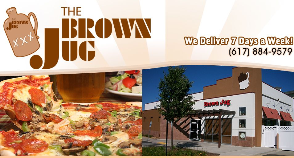 The Brown Jug Pizza Restaurant Delivery Sports Bar Chelsea Ma