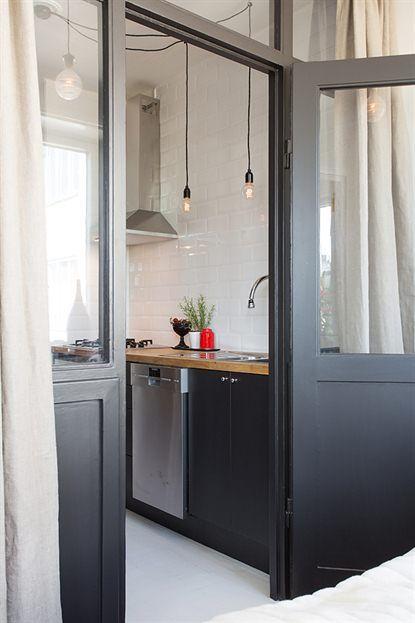 Les petites surfaces du jour : un deux pièces avec une cuisine en second jour | PLANETE DECO a homes world