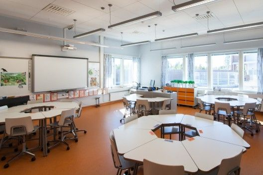Niemenranta elementary school alt architects for Office design archdaily