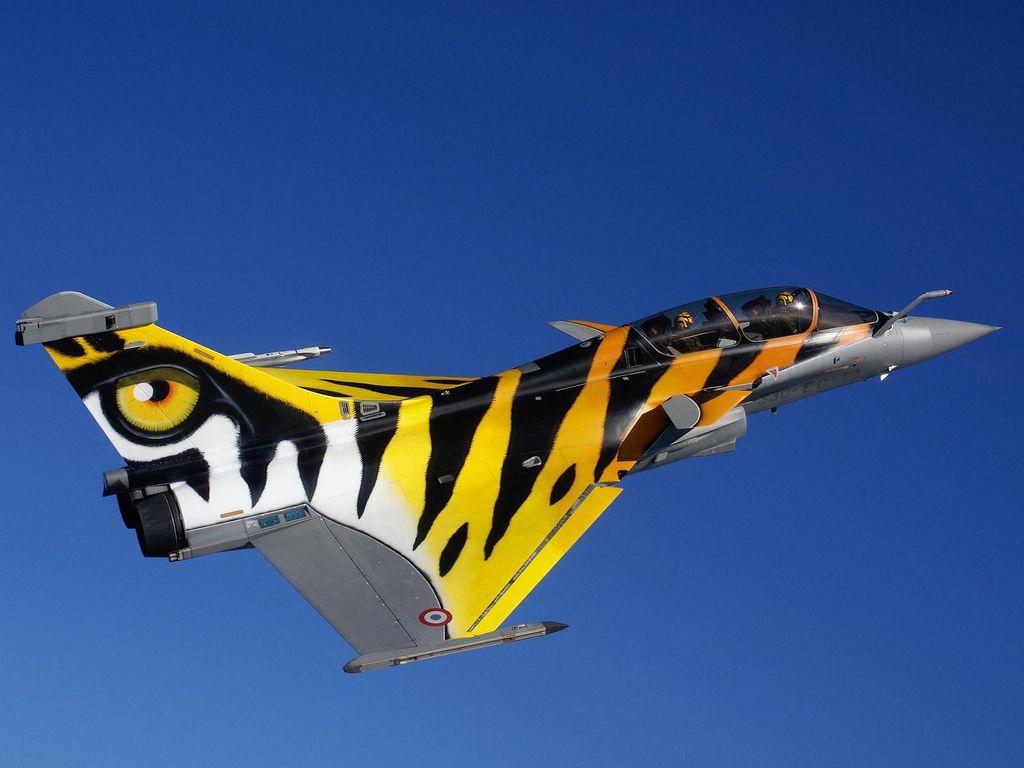 Dassault Rafale - Tiger-Meet scheme - Armée de l'Air (French