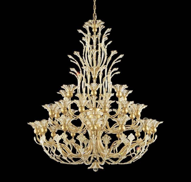 Image schonbek vintage crystal chandelier lights pinterest image schonbek vintage crystal chandelier mozeypictures Gallery