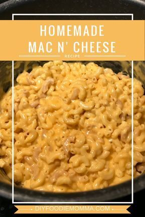 Home-made Mac and Cheese – The DIY Foodie Momma