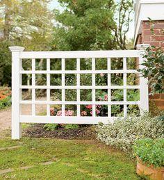 no maintenance vinyl trellis fence outdoors pinterest fences