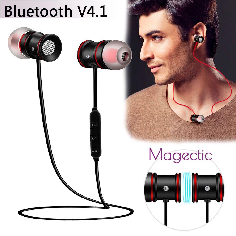 Wireless Sports Bluetooth V4 1 Headphone Earbuds Headset Earphone Magnet In Ear Unbranded Earbud Headphones Earbuds Earphone