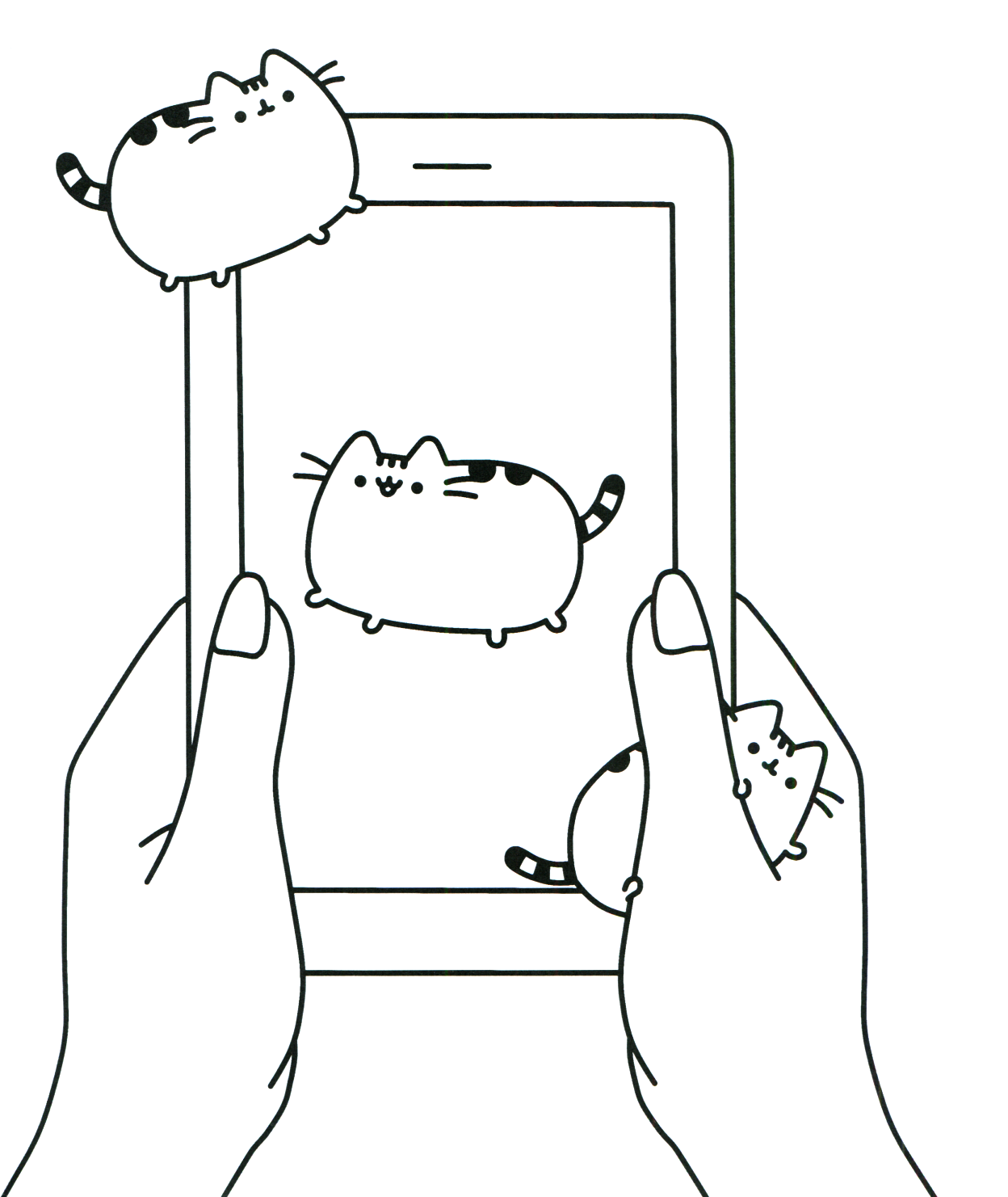 Coloring Rocks Pusheen Coloring Pages Cat Coloring Page Cute Coloring Pages