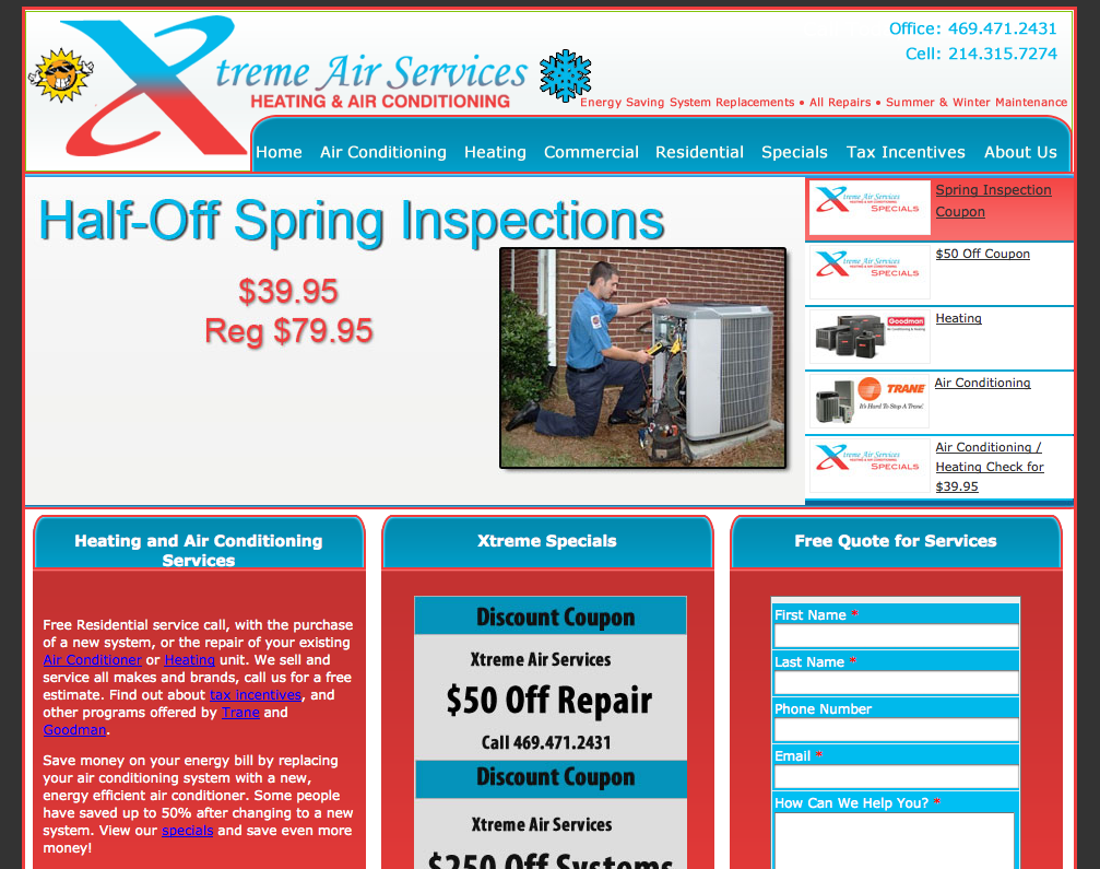Xtreme Air Services Provides Air Conditioning Replacement Air