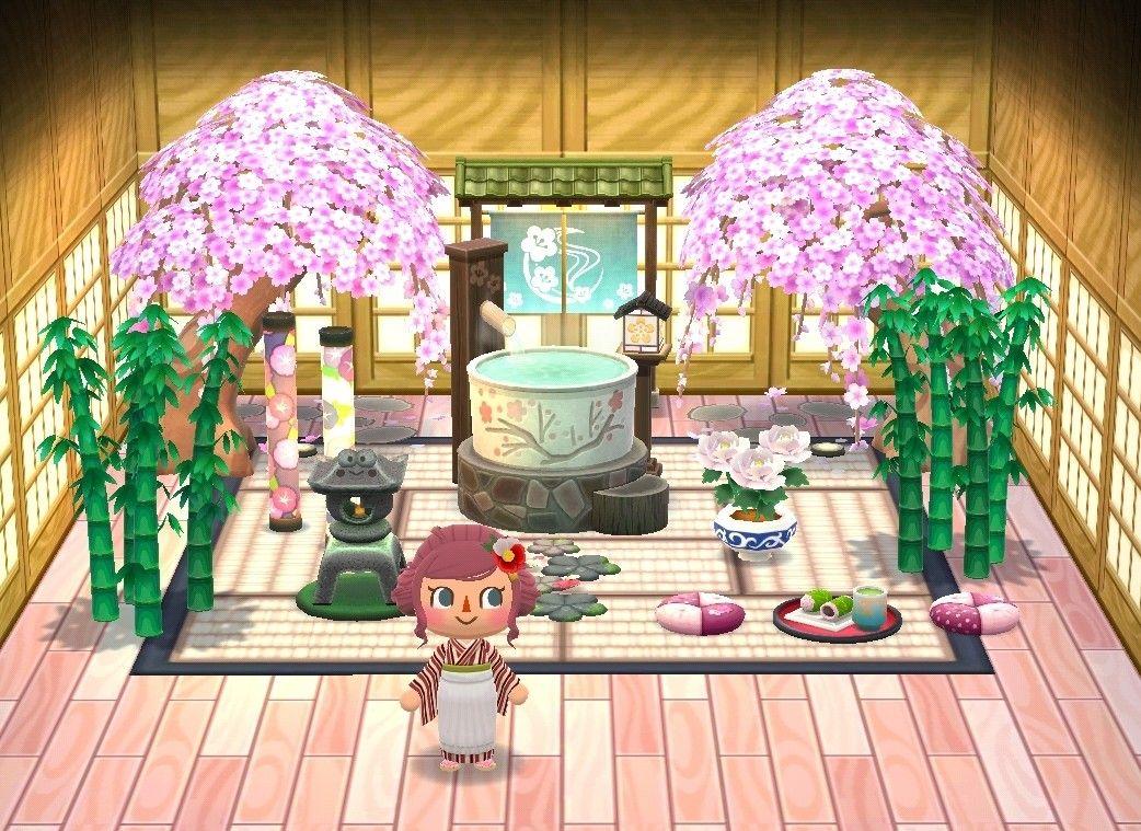 Pocket Camp Spa Cabin Animal Crossing Pocket Camp Animal Crossing Camping