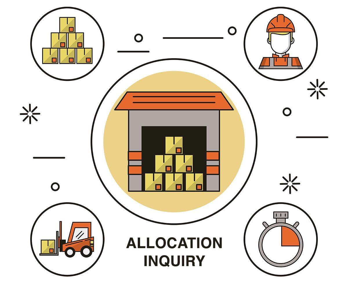 Allocation Inquiry Receivables