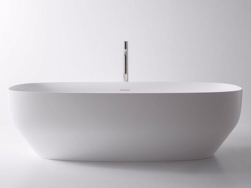 Vasca Da Bagno Hidra : Vasca da bagno centro stanza ovale in ceramilux® ago vasca da