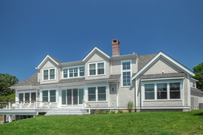 Nantucket Dormer Architecture Traditional Exterior By Cape Associates Inc Nantucket Style Homes Cottage Exterior Dover House