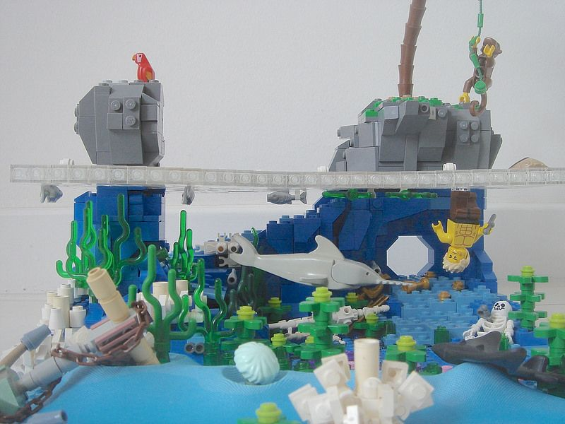 Image result for legos in the ocean