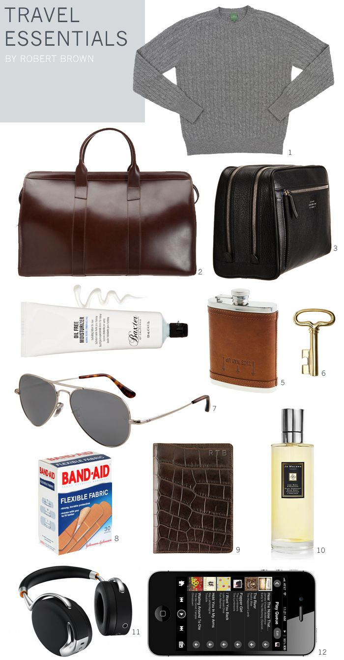 Robert Brown's Travel Essentials